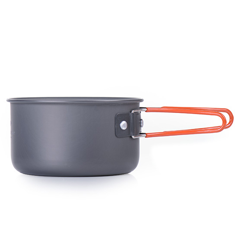 UK Camping Cookware Set Mess Kit Portable For Backpacking Gear Hiking Pots 4in 1