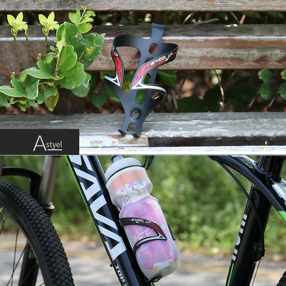Carbon Fiber Bicycle Water Bottle Cage Holder MTB Bike Rack Bracket Cycling UK