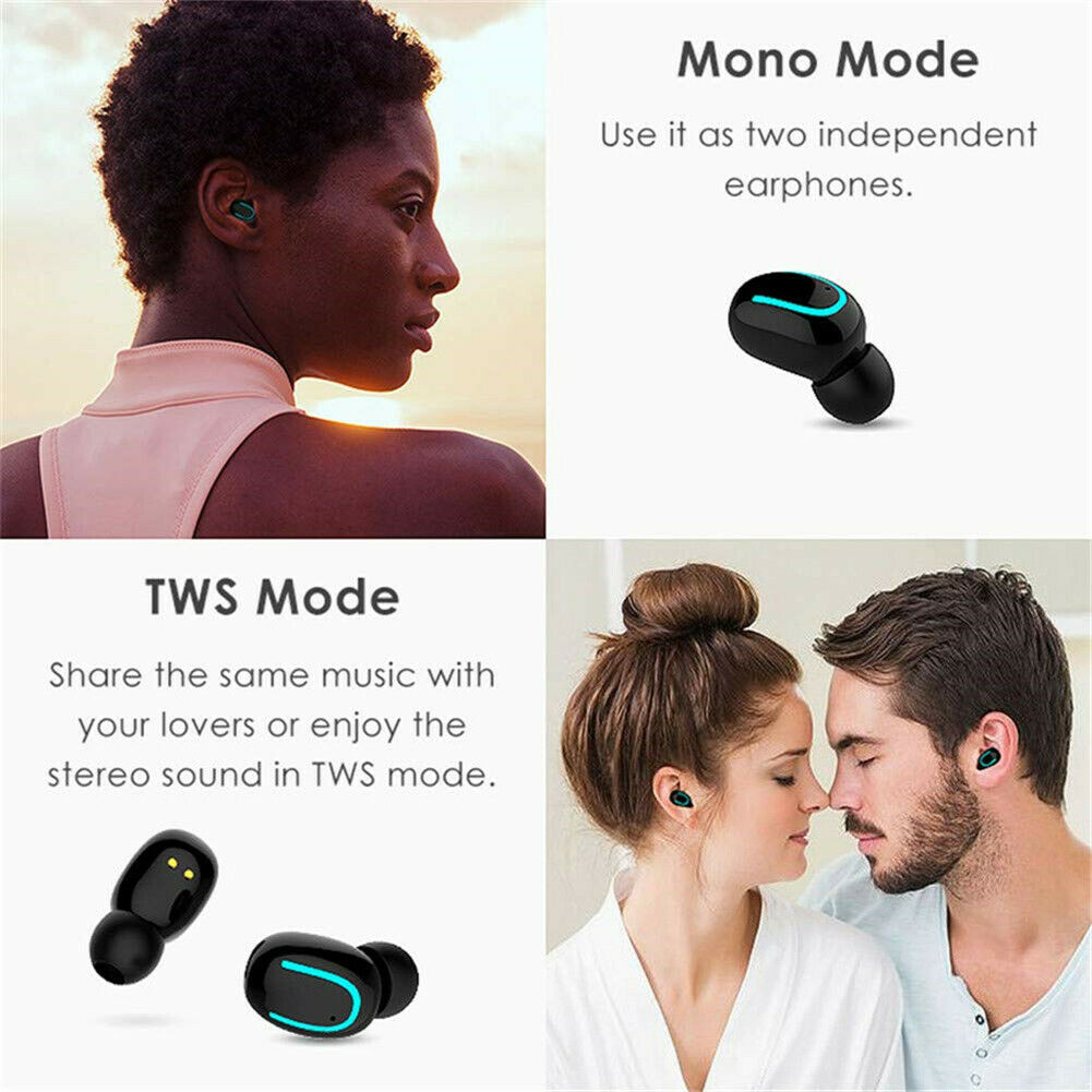 Drahtlose Ohrhörer Bluetooth Kopfhörer Headsets für Iphone Samsung Huawei Xiaomi