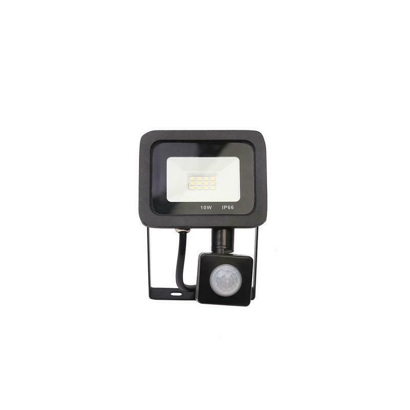 LED Floodlight PIR Sensor Motion 10//20//30//50W Outdoor Security Flood Light 220V