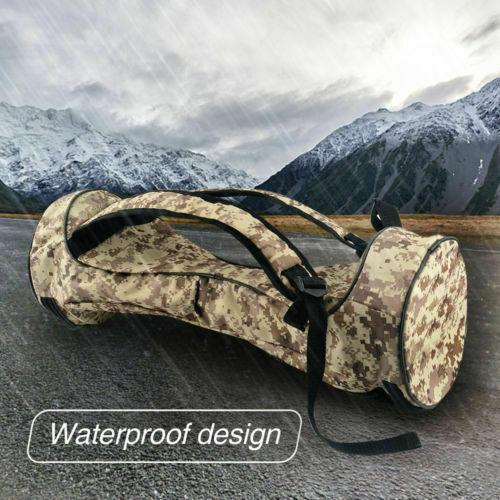 "Adjustable 6.5/"" Hover Board Bag Carrying Backpack Durable Handbag for Two Wheels"