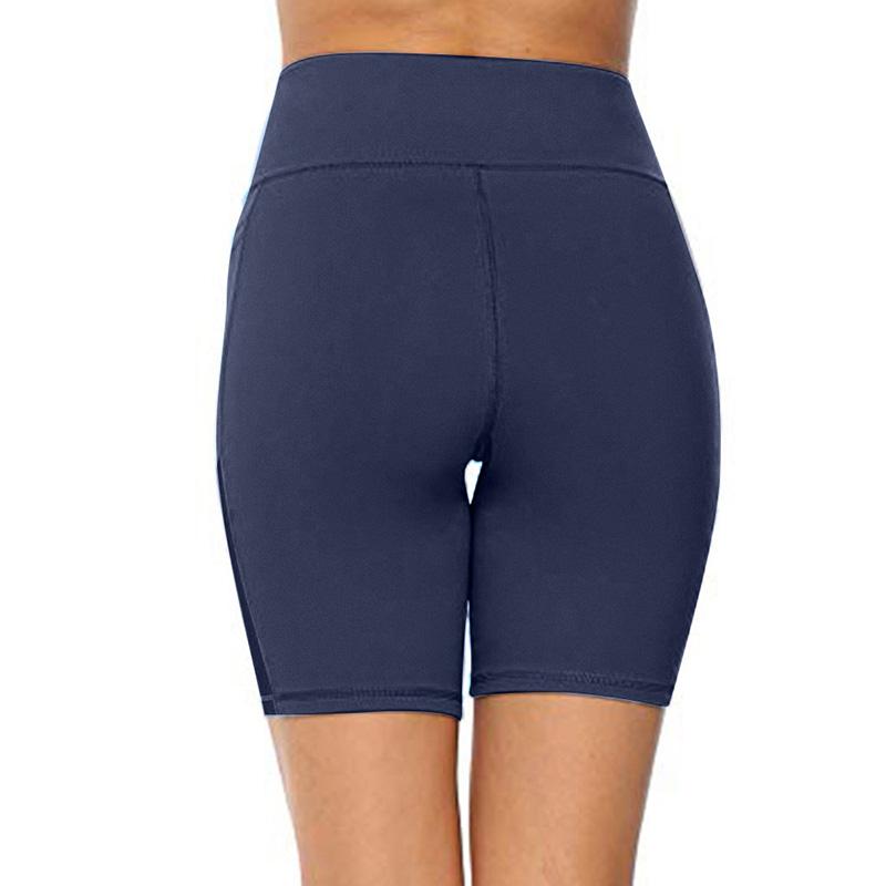 Women/'s High Waist Running Yoga Shorts Pocket Gym Stretch Leggigns Sports Pants