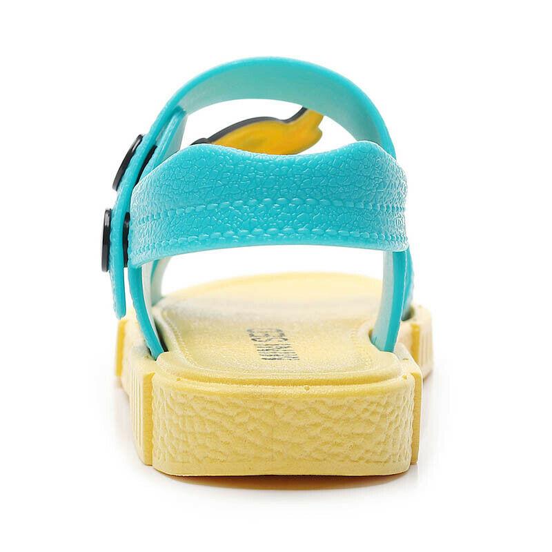 Kids Girls Boys Summer Beach Sandals Toddler Walk Trainers Shoes Flip Flops