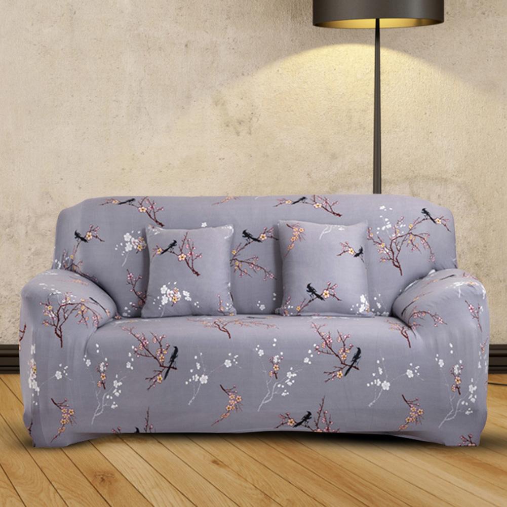 1//2//3 Sitzer Blumen Sofabezug Sofahusse Sesselbezug Sitzbezug Sesselüberwurf DE