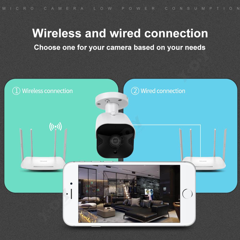1080P-Wifi-IP-Camera-de-Surveillance-Sans-fil-Vision-Nuit-Securite-Exterieur miniature 2