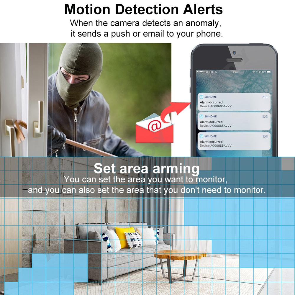 1080P-Wifi-IP-Camera-de-Surveillance-Sans-fil-Vision-Nuit-Securite-Exterieur miniature 3