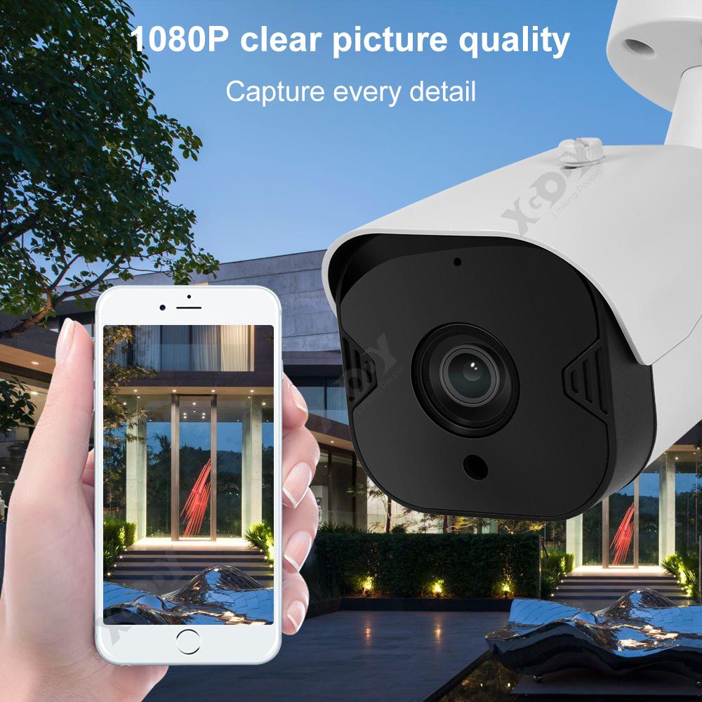 1080P-Wifi-IP-Camera-de-Surveillance-Sans-fil-Vision-Nuit-Securite-Exterieur miniature 4