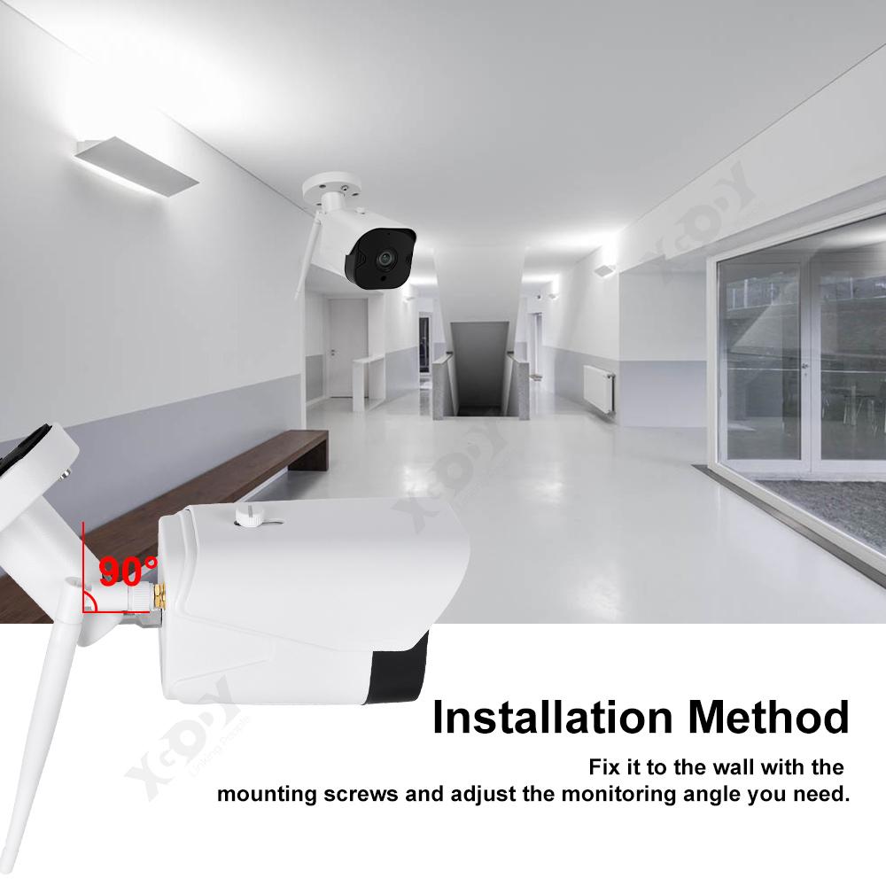 1080P-Wifi-IP-Camera-de-Surveillance-Sans-fil-Vision-Nuit-Securite-Exterieur miniature 8