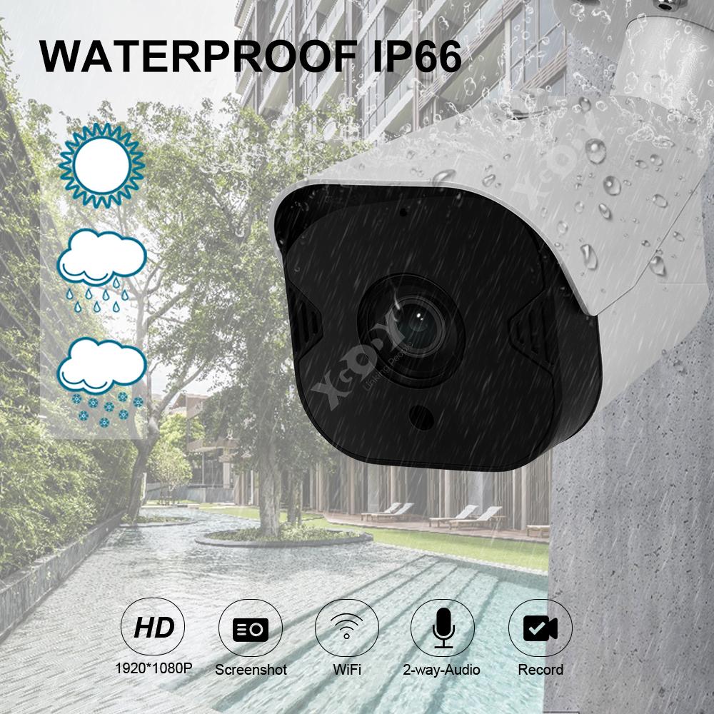 1080P-Wifi-IP-Camera-de-Surveillance-Sans-fil-Vision-Nuit-Securite-Exterieur miniature 9