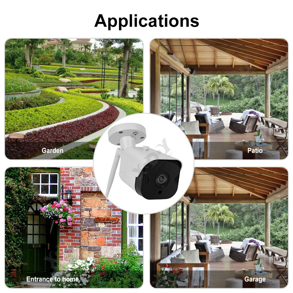 1080P-Wifi-IP-Camera-de-Surveillance-Sans-fil-Vision-Nuit-Securite-Exterieur miniature 10