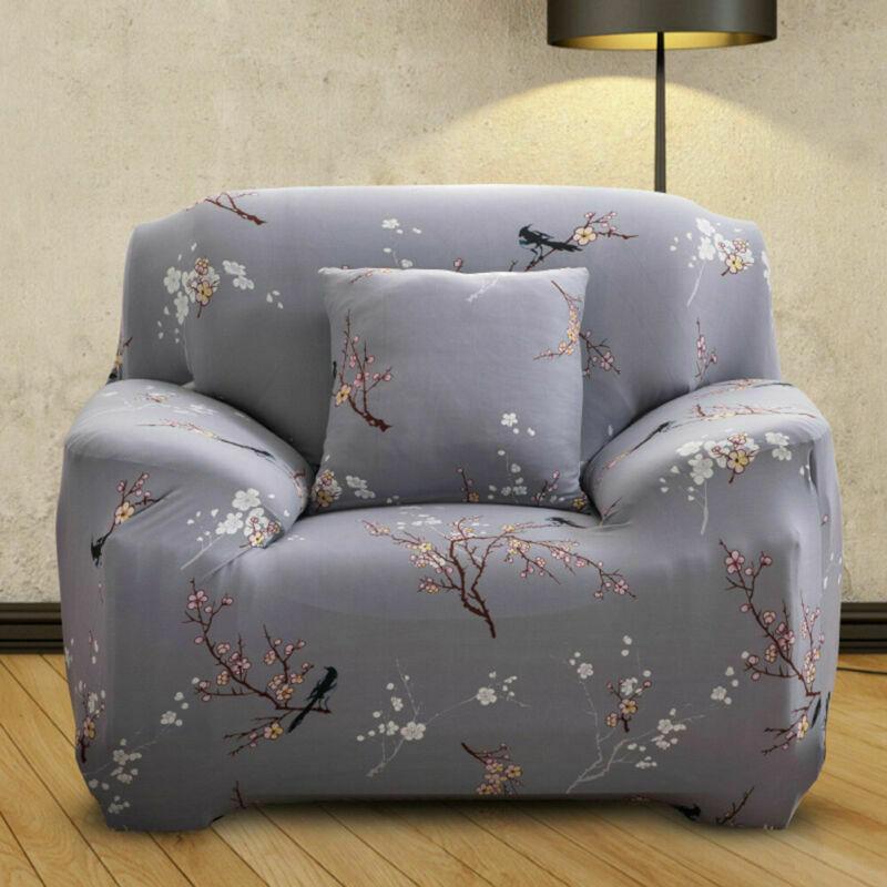 Housse-de-Canape-Extensible-Couverture-Chaise-Spandex-Elastique-Coussin-Couvre miniature 14