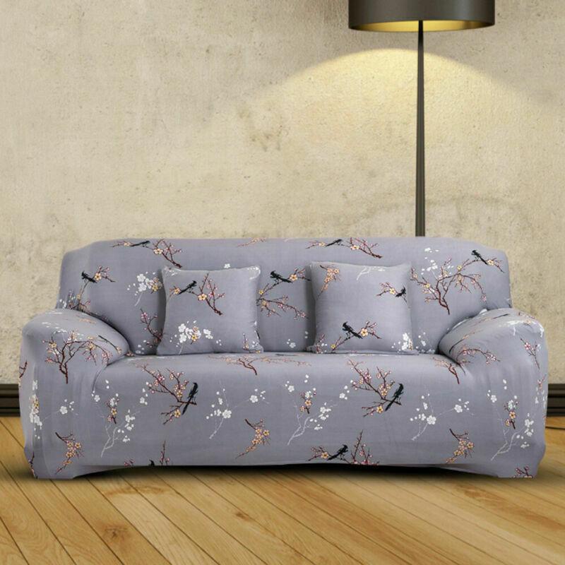 Housse-de-Canape-Extensible-Couverture-Chaise-Spandex-Elastique-Coussin-Couvre miniature 15