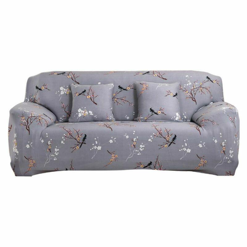 Housse-de-Canape-Extensible-Couverture-Chaise-Spandex-Elastique-Coussin-Couvre miniature 16