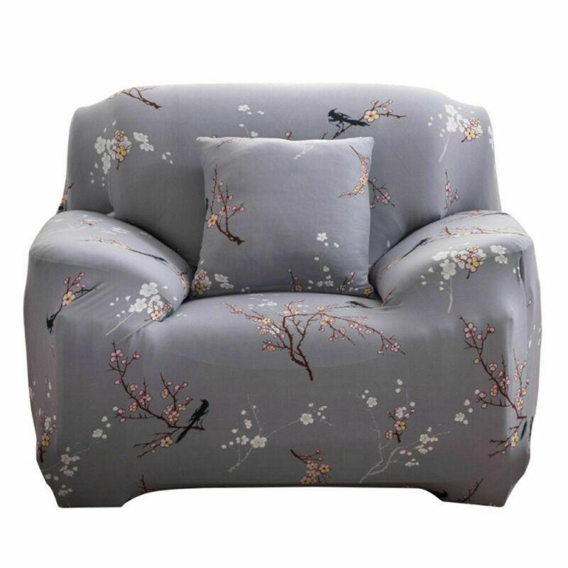 Housse-de-Canape-Extensible-Couverture-Chaise-Spandex-Elastique-Coussin-Couvre miniature 17
