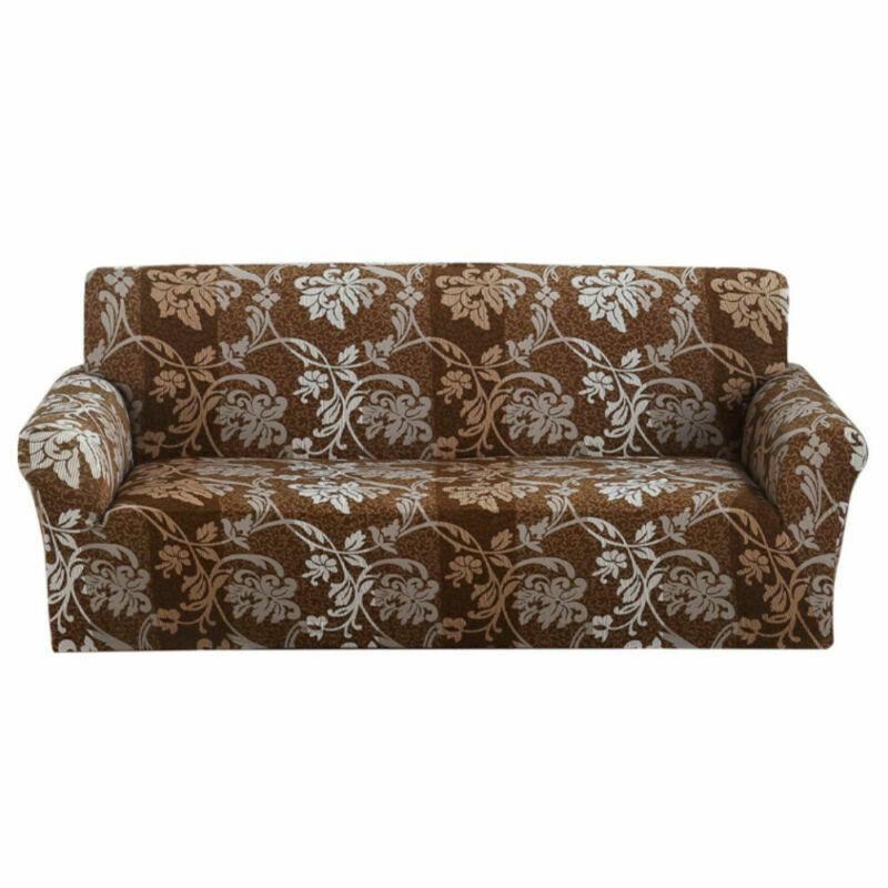 Housse-de-Canape-Extensible-Couverture-Chaise-Spandex-Elastique-Coussin-Couvre miniature 36