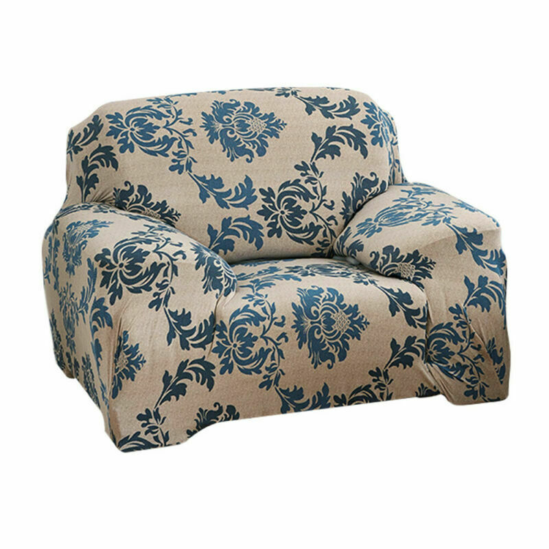 Housse-de-Canape-Extensible-Couverture-Chaise-Spandex-Elastique-Coussin-Couvre miniature 45