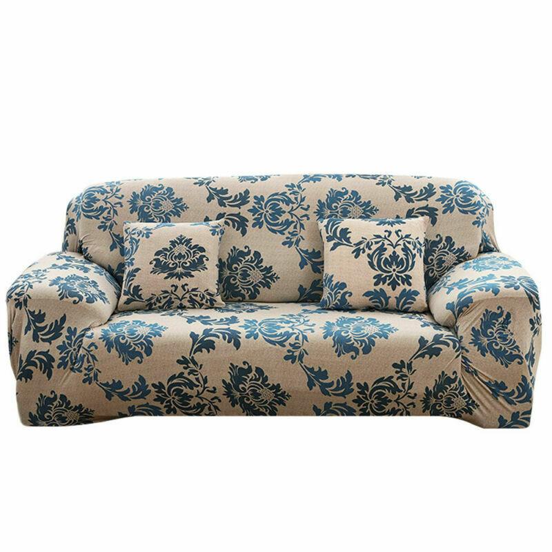 Housse-de-Canape-Extensible-Couverture-Chaise-Spandex-Elastique-Coussin-Couvre miniature 46