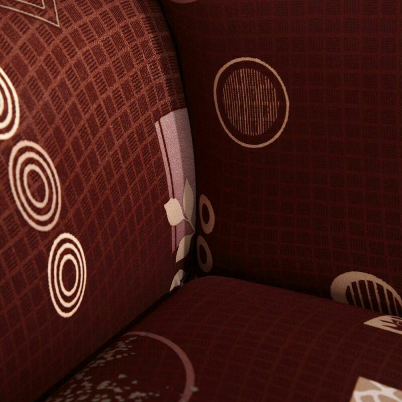 Housse-de-Canape-Extensible-Couverture-Chaise-Spandex-Elastique-Coussin-Couvre miniature 66