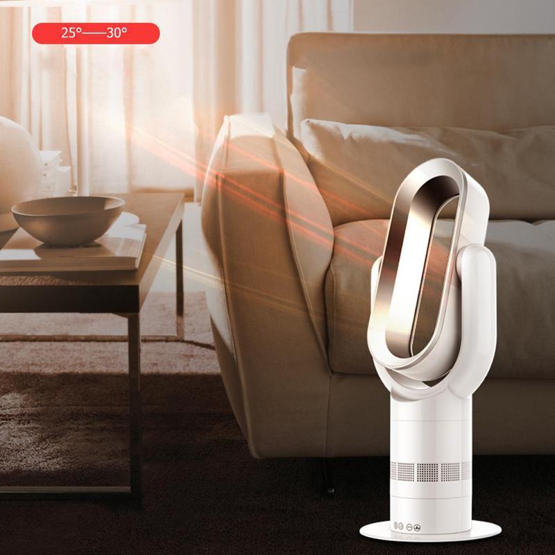 Hot + Cool Heizlüfter Ventilator LCD Touch Mute Fernbedienung Blattloser  Lüfter 12 12 Von 12 Siehe Mehr
