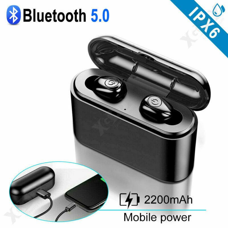 X8S-Auriculares-Bluetooth-5-0-TWS-Inalambricos-5D-Con-Caja-De-Carga-Cascos-y-Mic miniatura 2