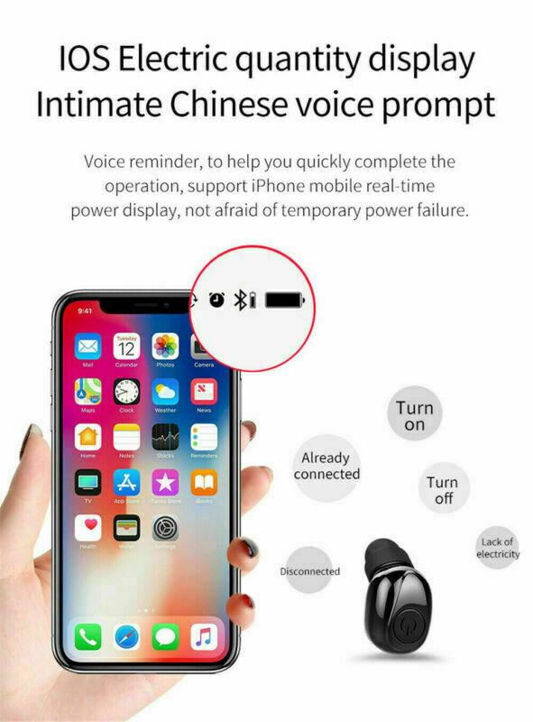 X8S-Auriculares-Bluetooth-5-0-TWS-Inalambricos-5D-Con-Caja-De-Carga-Cascos-y-Mic miniatura 6