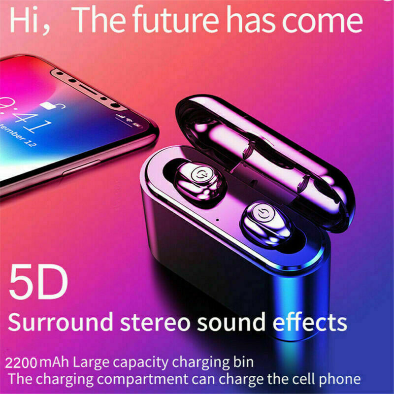 X8S-Auriculares-Bluetooth-5-0-TWS-Inalambricos-5D-Con-Caja-De-Carga-Cascos-y-Mic