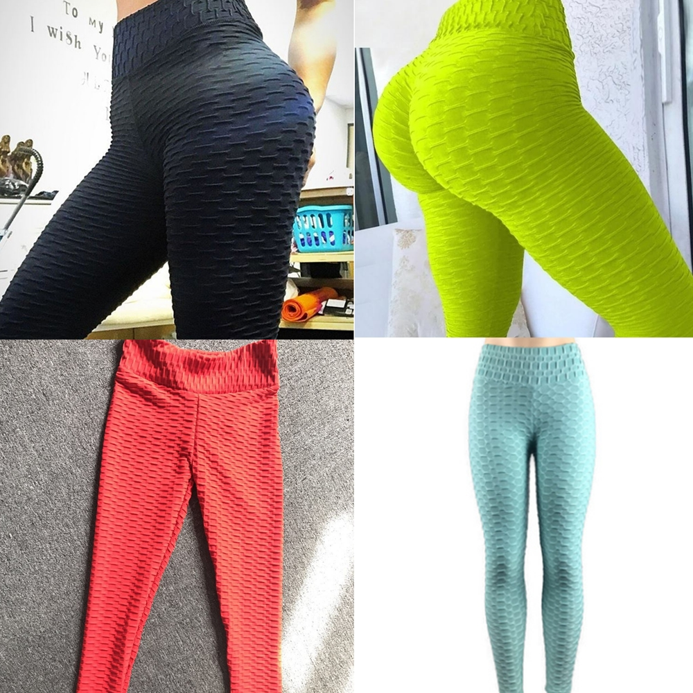 Womens Athletic Gym Yoga Activewear Running Pants Trousers