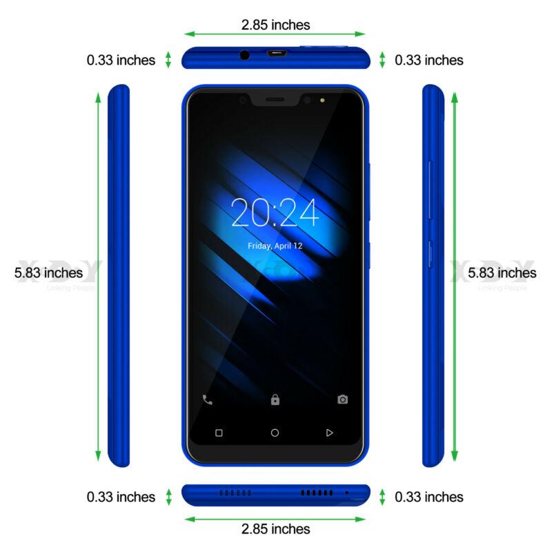 Android9-0-Dual-SIM-SMARTPHONE-CELLULARE-16-GB-ROM-QuadCore-Sbloccato-5-0-Pollic miniatura 10