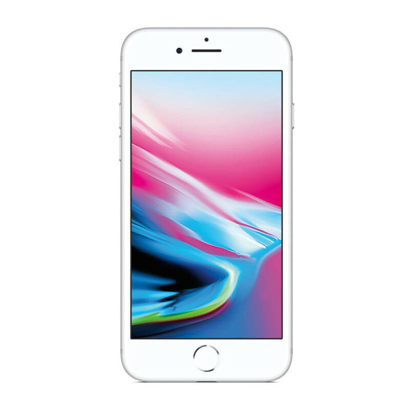 Apple-iPhone-8-64Go-Argente-SIM-4G-LTE-Mobile-Telephones-Garantie-Ios miniature 5