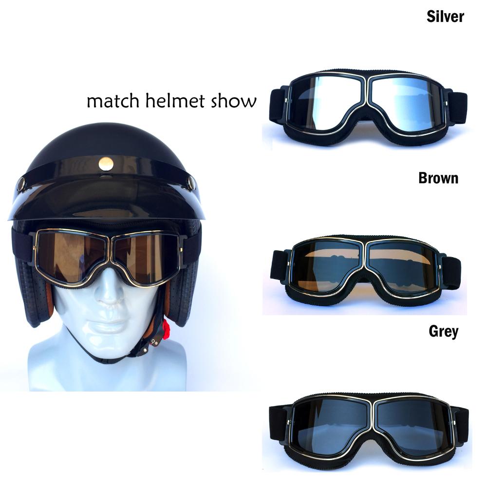 81fbd635d4 Motocross Scooter Goggles Gafas para los deportes al aire libre Vintage  Retro