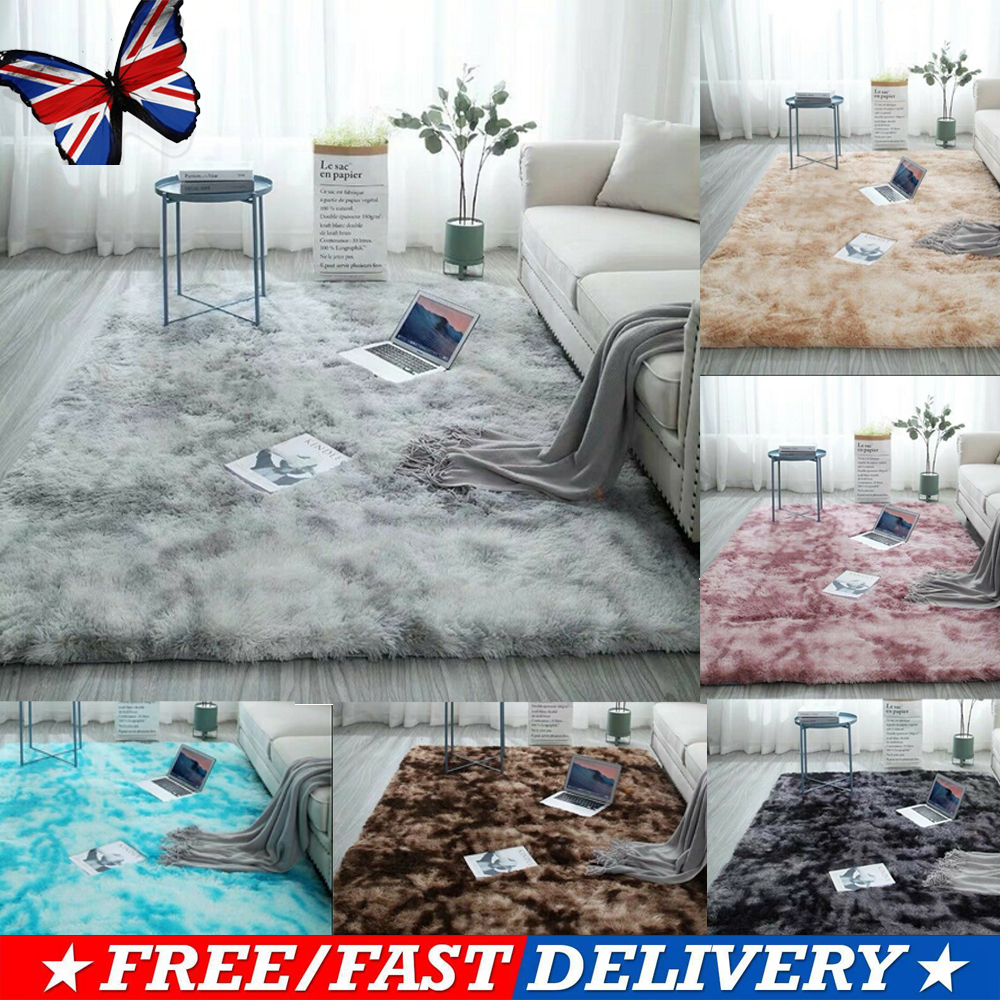 Hairy Carpet Balcony Rectangular Carpet Faux Fur Carpet Bedroom Mat Soft