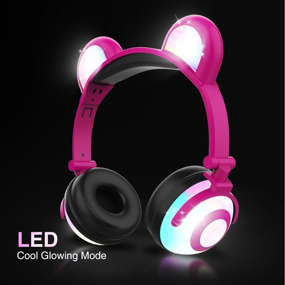 Details about Wireless Bluetooth Kids Over-Ear Headphones Earphones for  iPad/Tablet/Phones UK