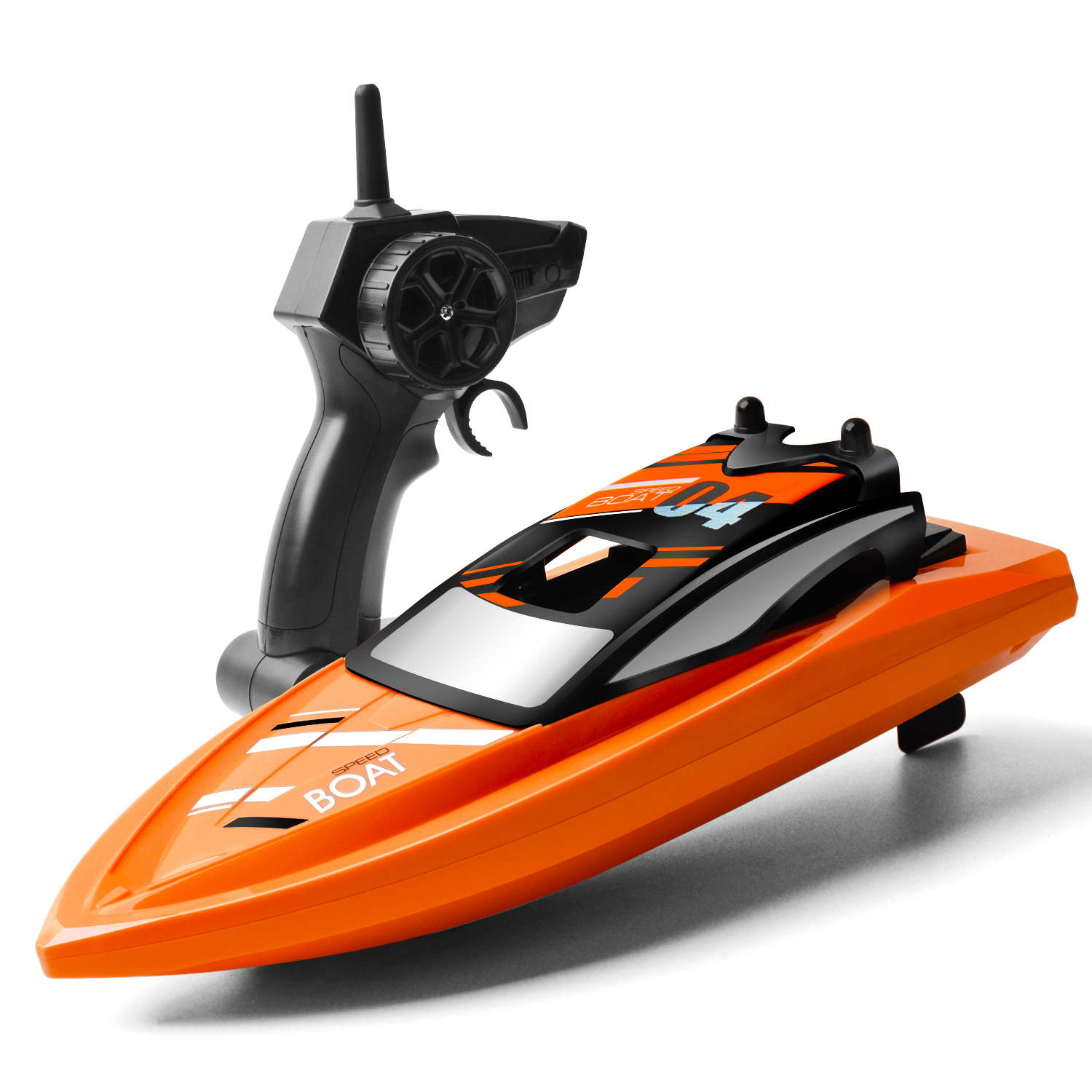 Remote Controlled Rc Boats 2 4ghz With 2 Motors High Speed Toys For Pool Rive R Rc Model Vehicles Kits Boats Watercraft
