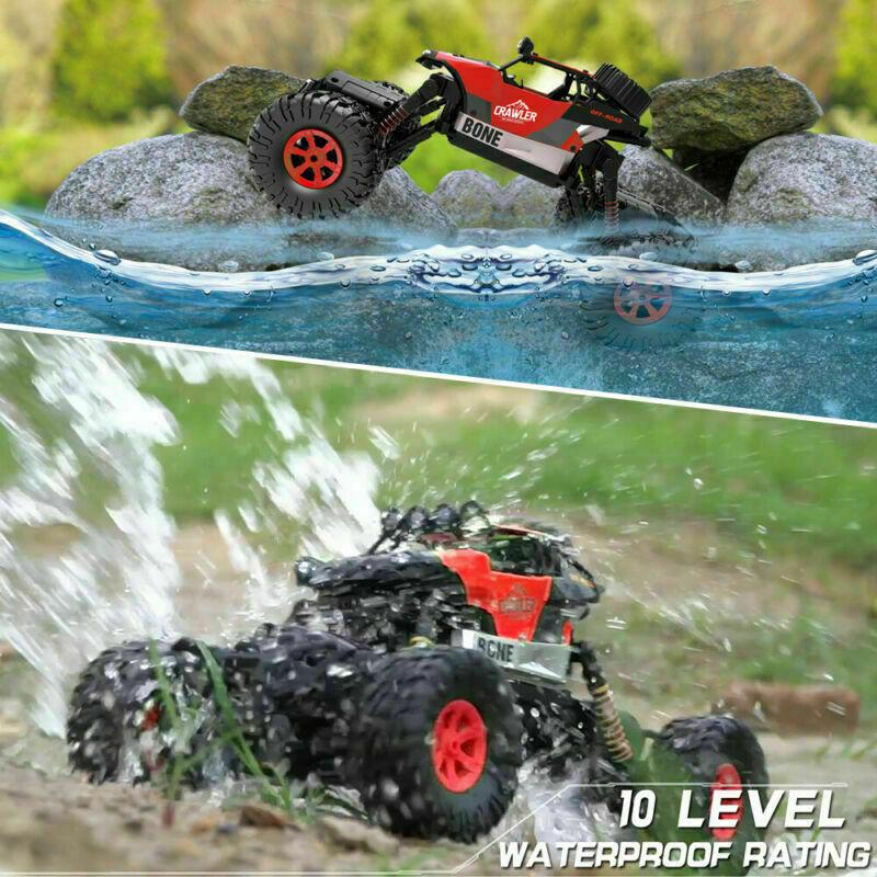 Monster-Truck-RC-1-16-4WD-Rock-Climbing-Car-Remote-Control-Drift-RTR-Toys-Models thumbnail 14