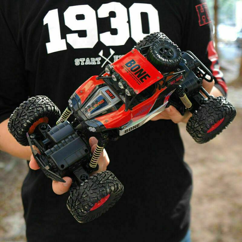 Monster-Truck-RC-1-16-4WD-Rock-Climbing-Car-Remote-Control-Drift-RTR-Toys-Models thumbnail 16
