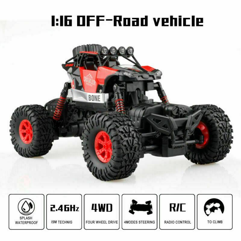 Monster-Truck-RC-1-16-4WD-Rock-Climbing-Car-Remote-Control-Drift-RTR-Toys-Models thumbnail 18