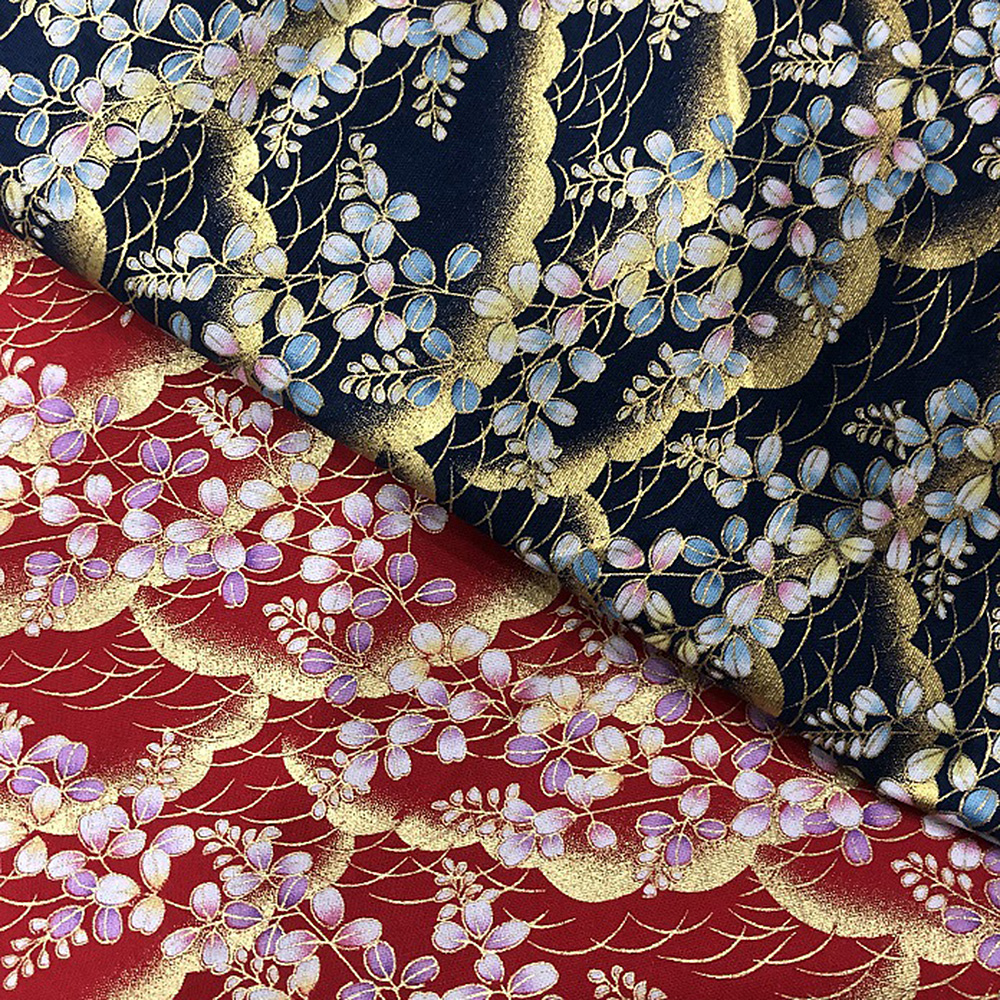 Japanese-Cotton-Fabric-Cherry-Blossom-Sewing-Fabric-Patchworks-Quilting-DIY thumbnail 9
