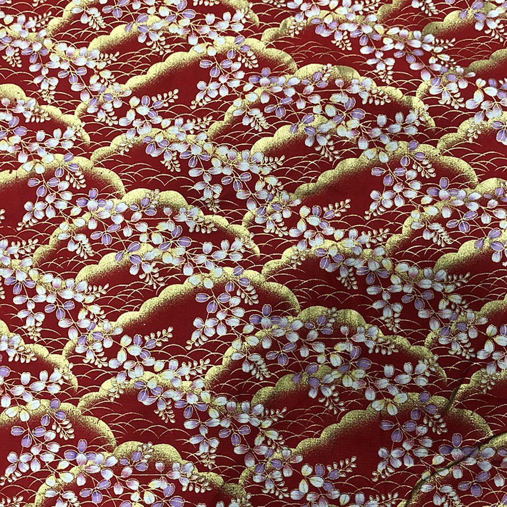 Japanese-Cotton-Fabric-Cherry-Blossom-Sewing-Fabric-Patchworks-Quilting-DIY thumbnail 10