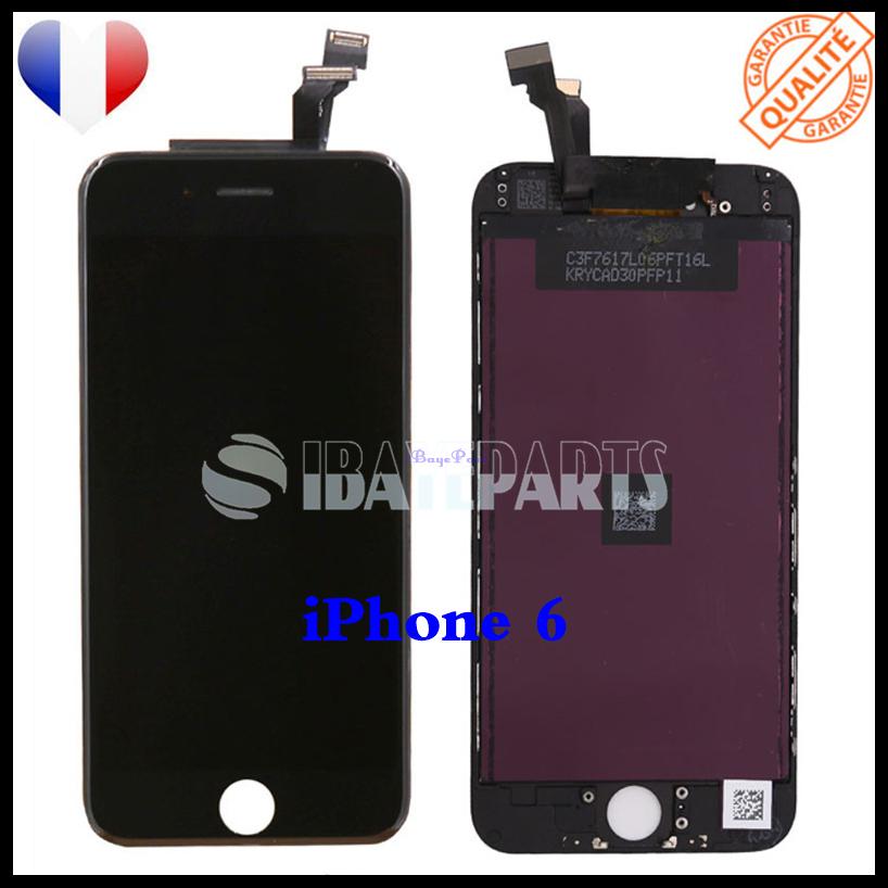 ECRAN-LCD-RETINA-VITRE-TACTILE-SUR-CHASSIS-IPHONE-6-6S-PLUS-NOIR-BLANC-FRLMS miniature 14
