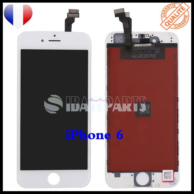 ECRAN-LCD-RETINA-VITRE-TACTILE-SUR-CHASSIS-IPHONE-6-6S-PLUS-NOIR-BLANC-FRLMS miniature 15