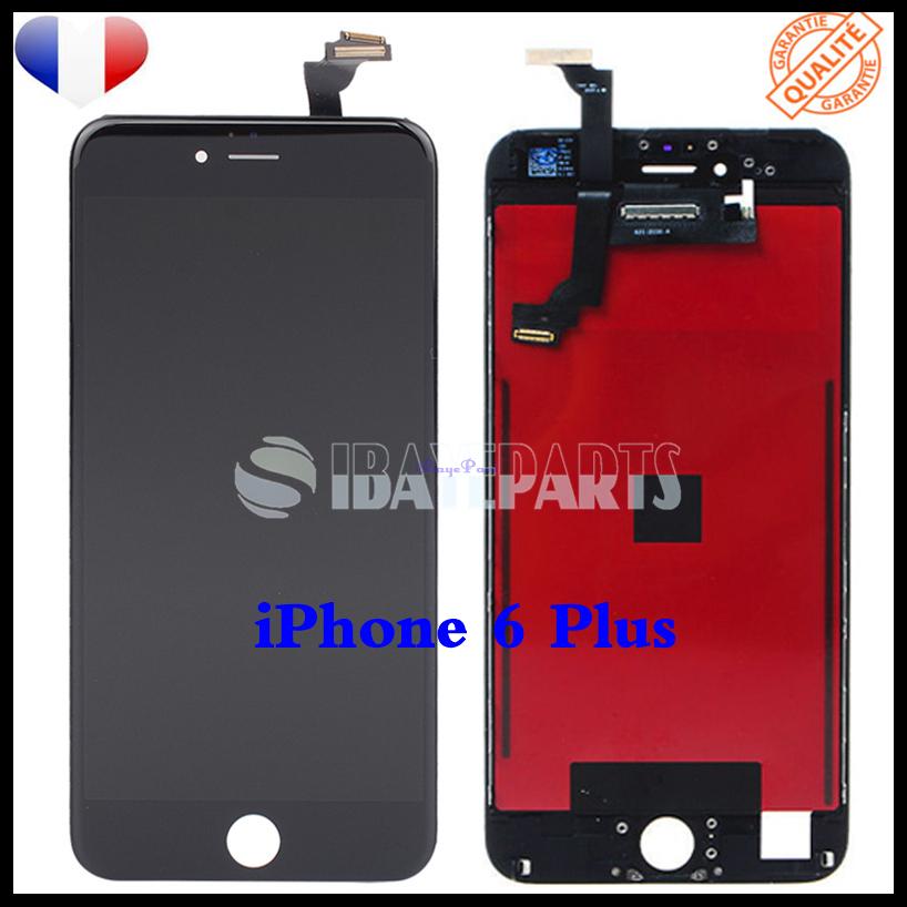 ECRAN-LCD-RETINA-VITRE-TACTILE-SUR-CHASSIS-IPHONE-6-6S-PLUS-NOIR-BLANC-FRLMS miniature 17
