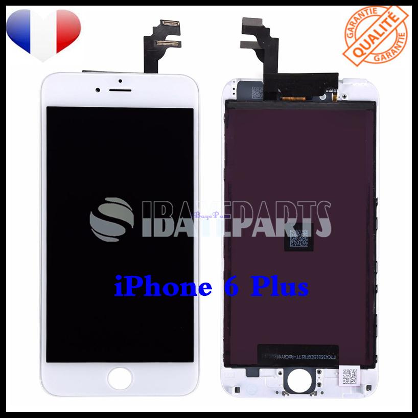 ECRAN-LCD-RETINA-VITRE-TACTILE-SUR-CHASSIS-IPHONE-6-6S-PLUS-NOIR-BLANC-FRLMS miniature 18