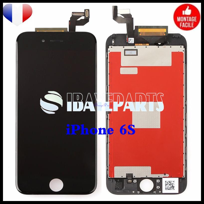 ECRAN-LCD-RETINA-VITRE-TACTILE-SUR-CHASSIS-IPHONE-6-6S-PLUS-NOIR-BLANC-FRLMS miniature 20