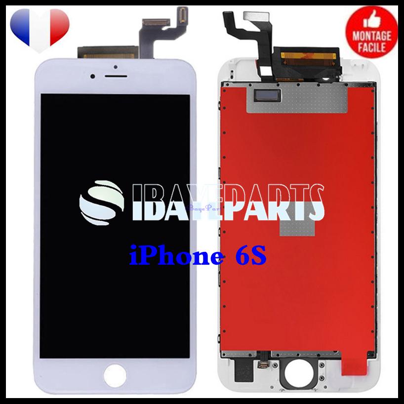 ECRAN-LCD-RETINA-VITRE-TACTILE-SUR-CHASSIS-IPHONE-6-6S-PLUS-NOIR-BLANC-FRLMS miniature 21