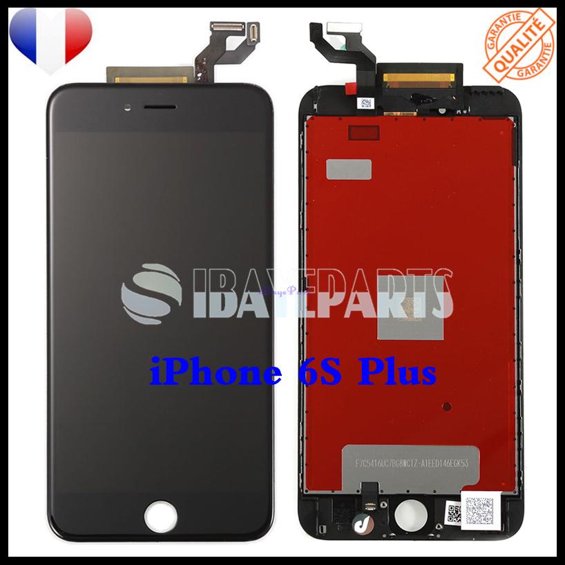 ECRAN-LCD-RETINA-VITRE-TACTILE-SUR-CHASSIS-IPHONE-6-6S-PLUS-NOIR-BLANC-FRLMS miniature 23