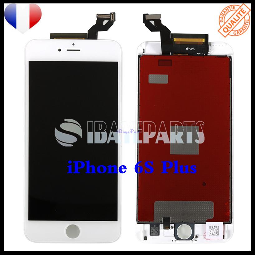 ECRAN-LCD-RETINA-VITRE-TACTILE-SUR-CHASSIS-IPHONE-6-6S-PLUS-NOIR-BLANC-FRLMS miniature 24