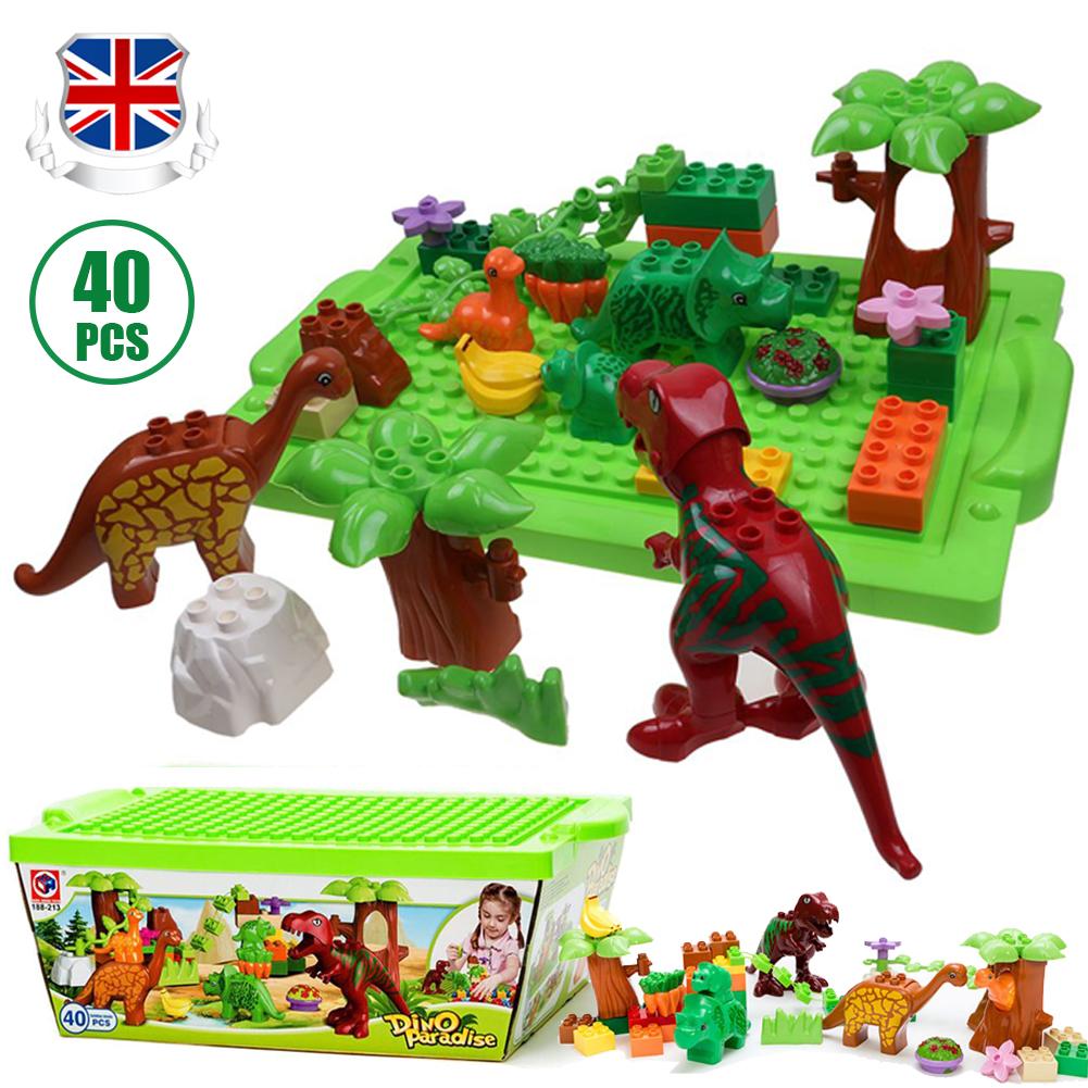 Animal Building Block Sets Figures Bricks Toys Educational Model Children Gift
