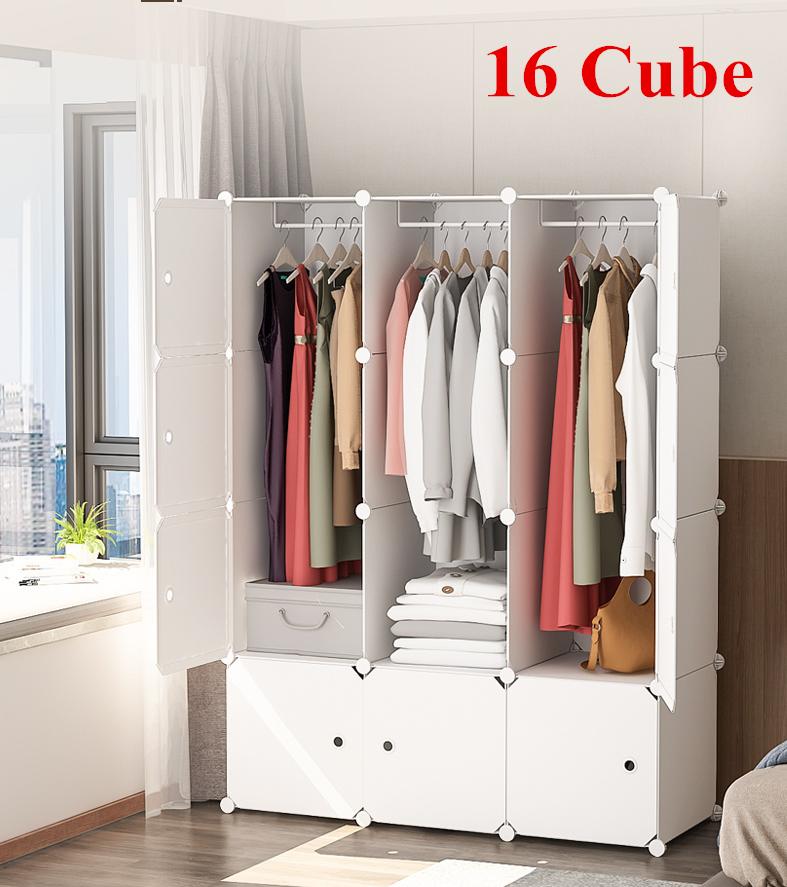 Cube Plastic Storage Wardrobe Clothes