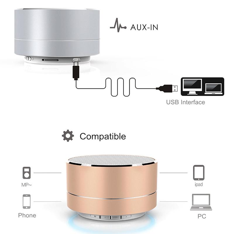 led bluetooth lautsprecher wireless soundbar tragbarer. Black Bedroom Furniture Sets. Home Design Ideas
