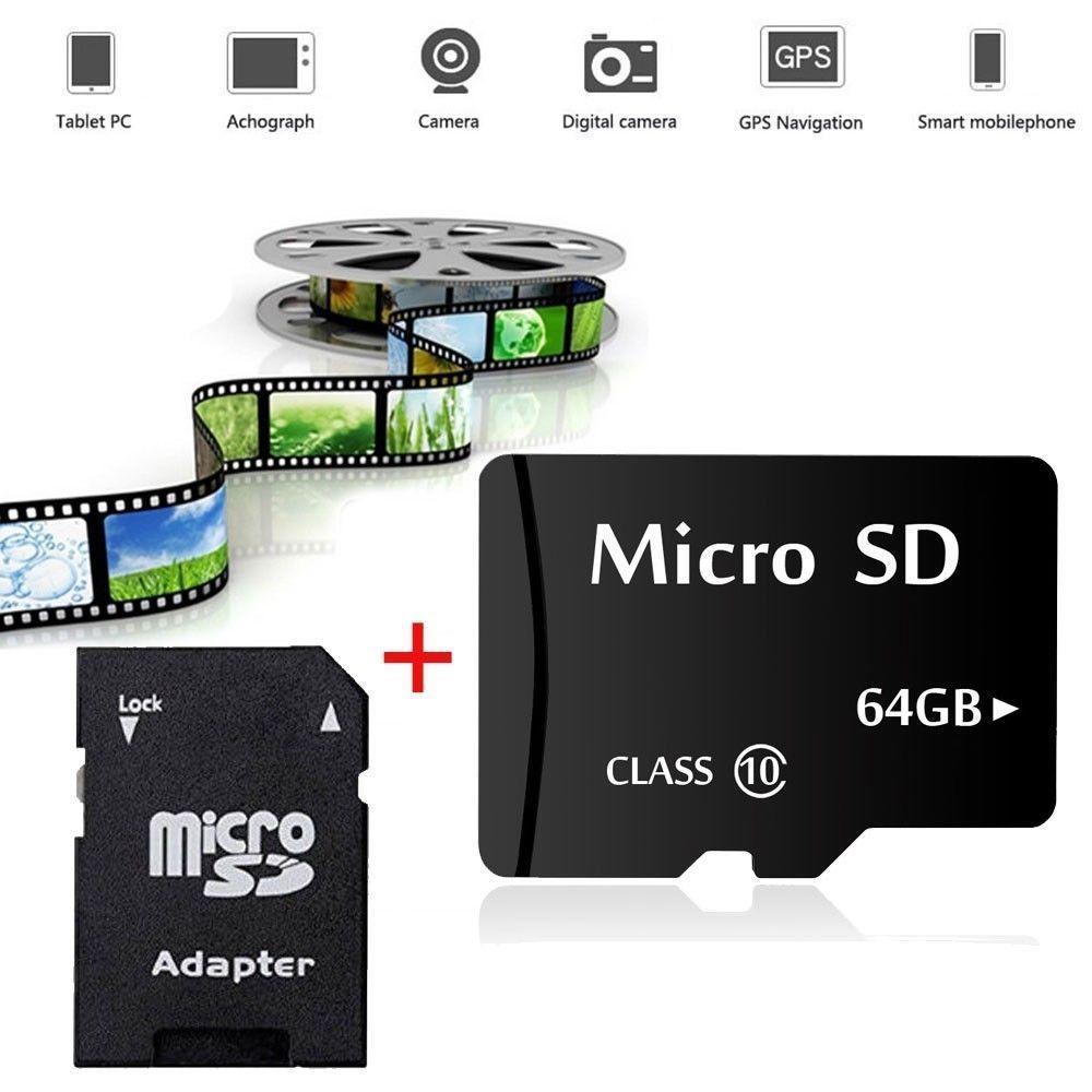 64gb 128gb memory microsd speicherkarte adapter sd sdhc. Black Bedroom Furniture Sets. Home Design Ideas